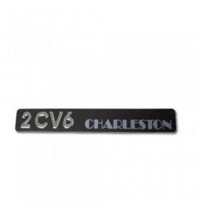 Monogramme 2cv6 charleston