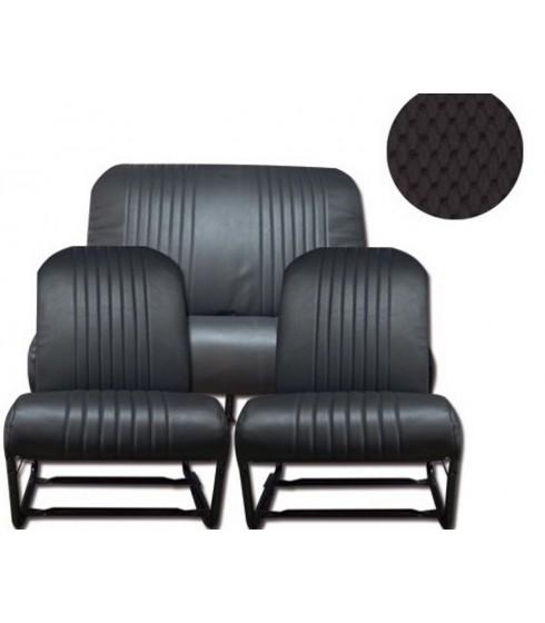 Garnitures TARGA Noir 2cv4-2cv6 citroen