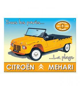 Plaque Méhari