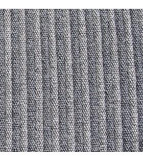 Tissu gris rayé foncé Citroën Traction avant
