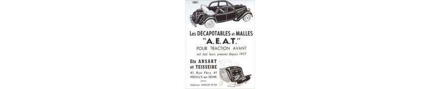 Ampoules traction avant