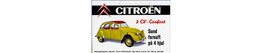 pièces accessoires carrosserie citroen  2cv