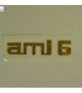 Monogramme Ami6 doré adhésif