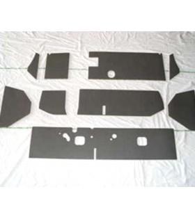 Garnitures grise tableau de bord 2cv