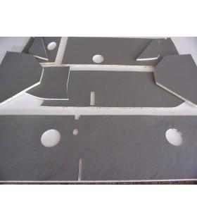 Garnitures grise tableau de bord 2cv Type AZ citroen