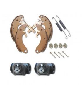 Kit freins avant 2cv tambours 200mm et cylindres clé de 8. 200AV08