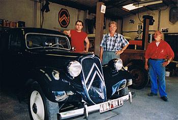 Le garage et le magasin - notre histoire