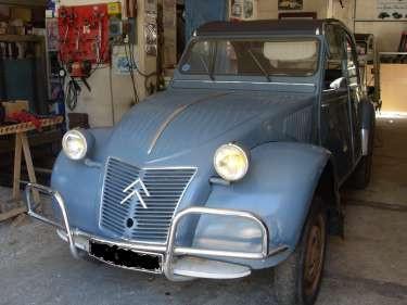 Restauration Chassis 2cv AZ 1960